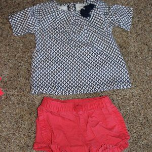 18M Carter's Shorts and Top